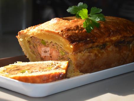 Pâté de canard en croûte, au foie gras et armagnac