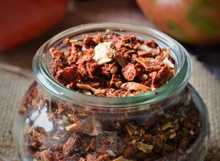 Préparation déshydratée pour velouté à la tomate