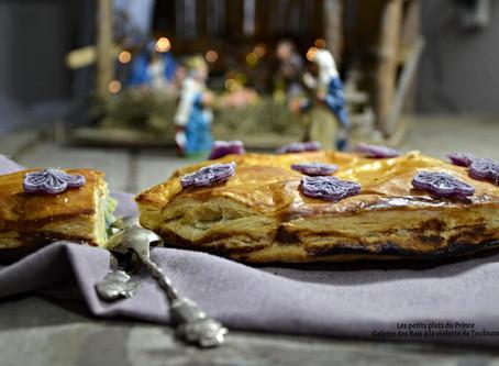 La galette des Rois à la violette de Toulouse