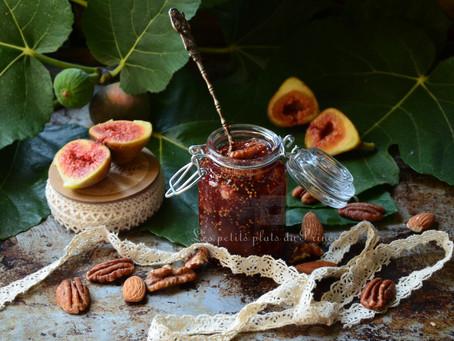 Confiture de figues aux fruits secs