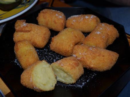 Cuisinons avec les restes...Les croquettes de Pomme de terre