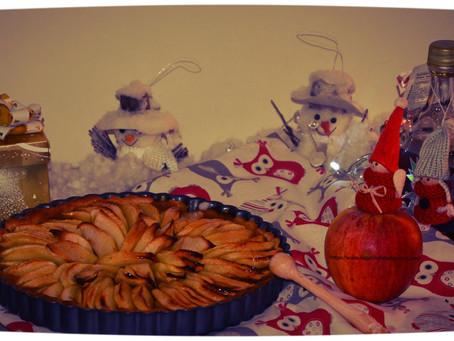 Tarte aux pommes au sirop d'érable