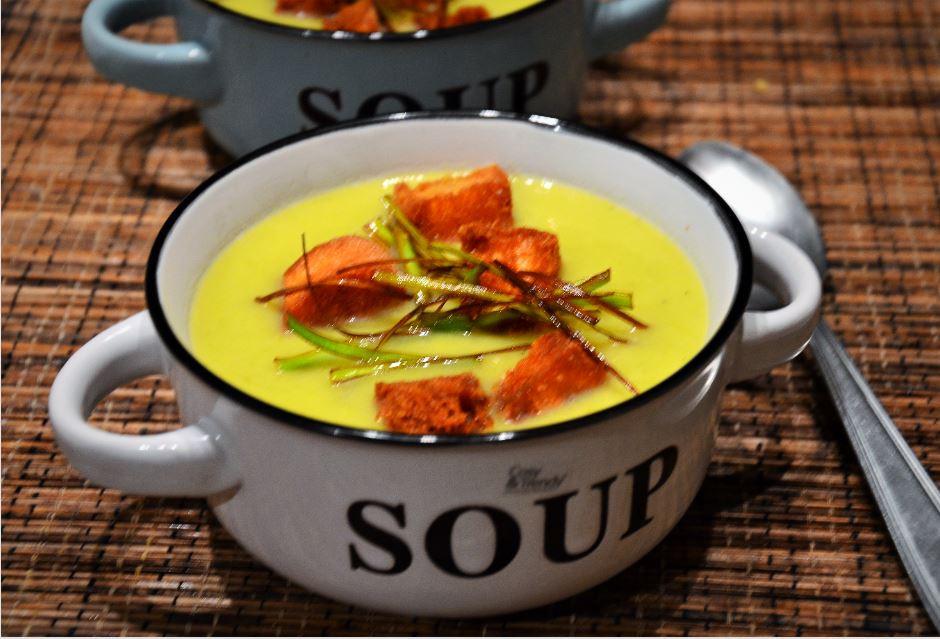 soupe de poireau façon grand mère