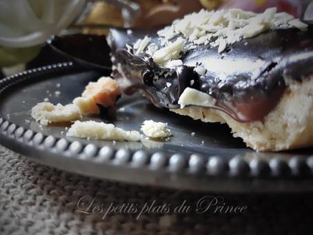 Tartelettes au chocolat noir et cœur coulant caramel