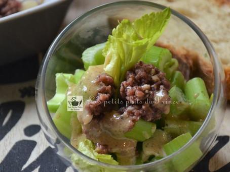 Salade de céleri branche en anchoïade