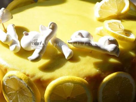 Tout citron, le gâteau acidulé