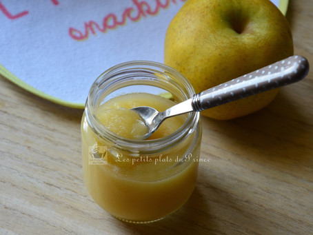 Ma première compote de pomme