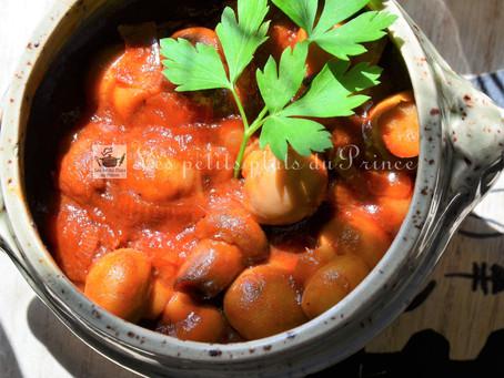 Champignons à la Grecque : la recette antigaspi