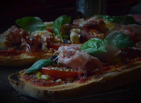 Pizza baguette : la tartine chaude très tendance...