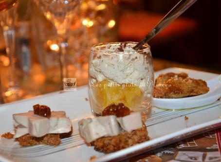 Amuse-bouche autour du foie gras