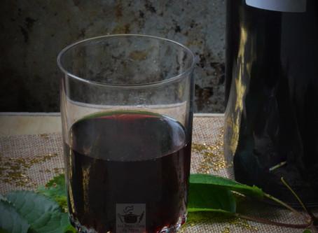 Vin de feuilles de cerisier (apéritif type guignolet)