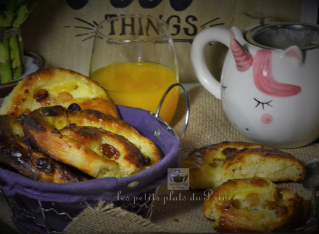 Petits pains aux raisins, la recette facile