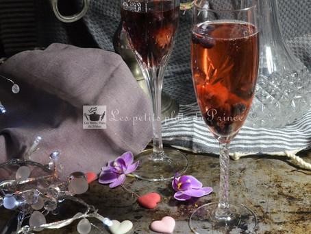 Cocktail de la St Valentin
