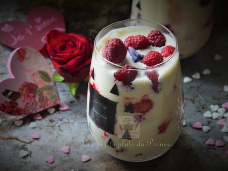 Tiramisu aux fruits rouges pour la St Valentin