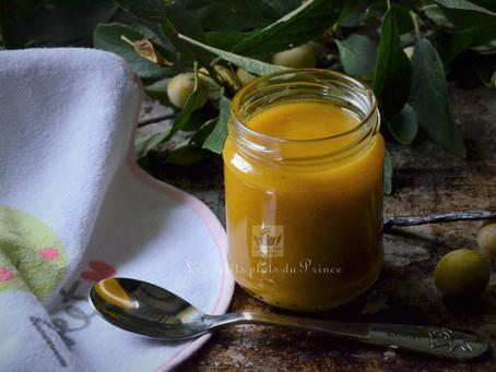 Compote de mirabelles du jardin à la vanille