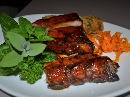 Travers de porc laqués (coustelous, ou ribs de porc)