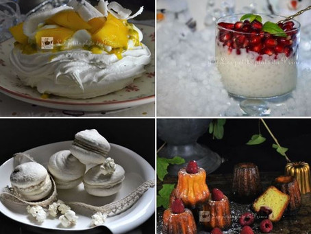 Farandole de desserts pour buffet du 31 décembre
