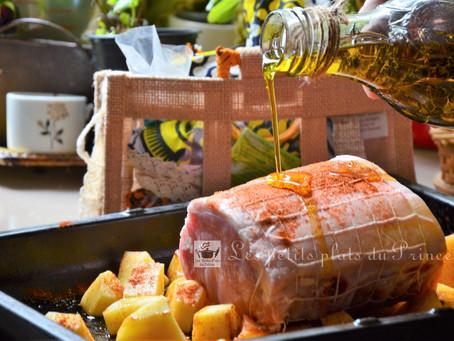 Rôti de porc aux épices