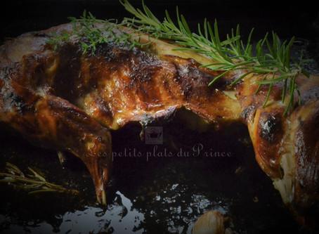 Lapin grillé aux senteurs de la garrigue provençale