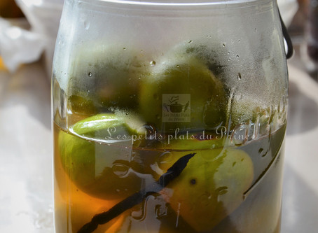 Figues blanches au sirop à l'armagnac