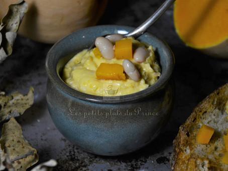 Houmous haricots blancs et courge butternut