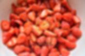 Salade de fraises au citron vert