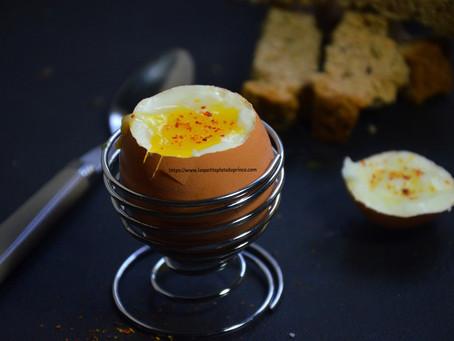 œuf extra frais à la coque
