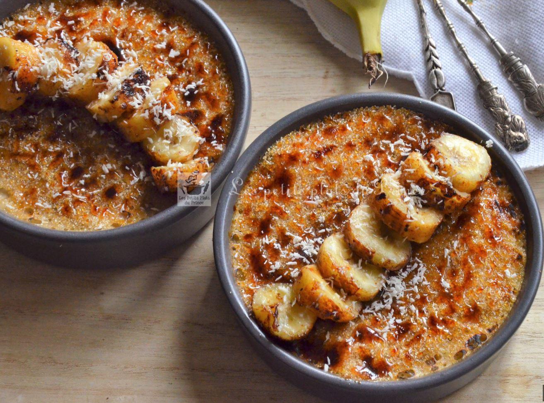 crème brûlée banane