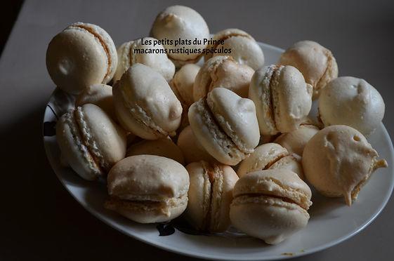 macarons rustiques spéculos