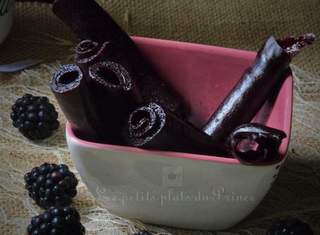 Réalisation de cuir de fruits au deshydrateur