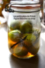 Figues blanches au sirop