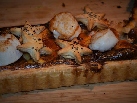 Tarte aux noix de Saint Jacques