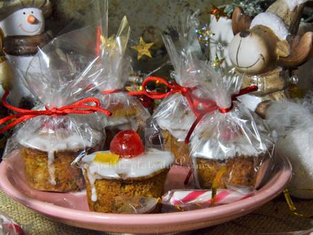 Mini cakes aux fruits confits pour Noël