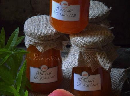 Confiture d'abricot à la verveine citronnelle
