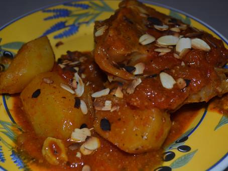Curry de jarret de veau