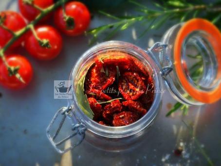 Tomates cerises séchées au deshydrateur