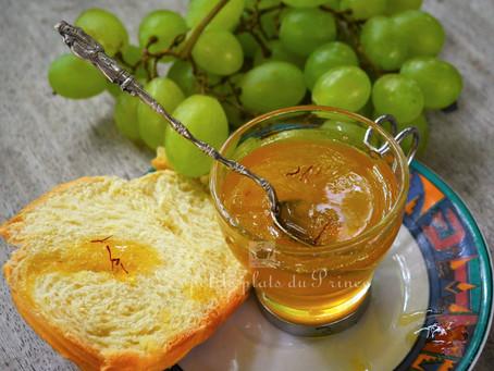 Gelée de raisin au safran