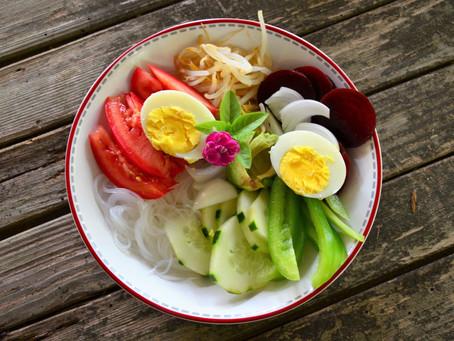 Salade vitaminée vite préparée pour une rentrée sans stress...