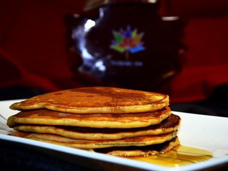 Pancakes cannelle et sirop d'érable