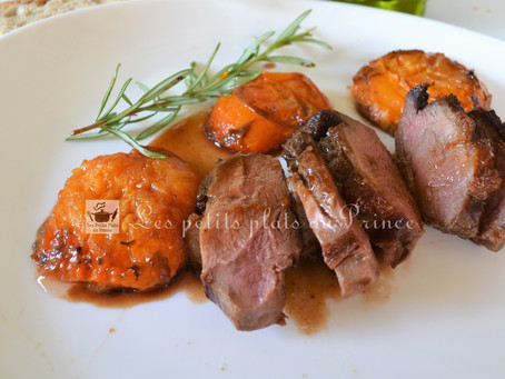 Magret de canard aux abricots et Floc de Gascogne