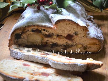 Le Stollen : la brioche aux fruits confits du Noël allemand