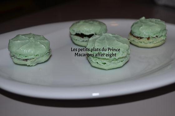 Macarons after eight