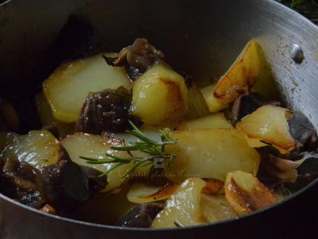 Pommes de terre sautées à la gersoise