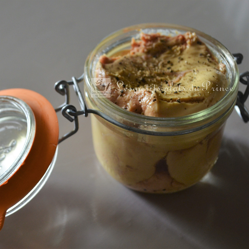Mi cuit de foie gras
