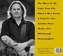 Rusty Stone - The Blues In Me - CD 2021