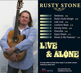 Rusty Stone - Live & Alone - CD 2009