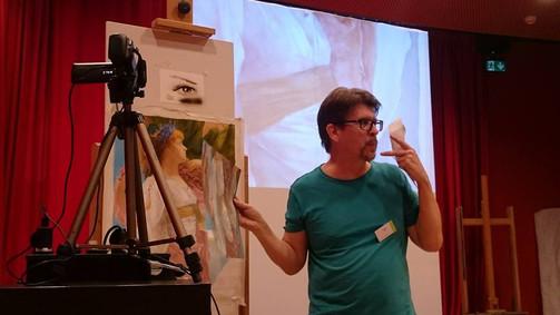 15 Master-classes. Drew Blair: Airbrush