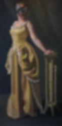 Herkenning I, 90x130 cm, olieverf op lin