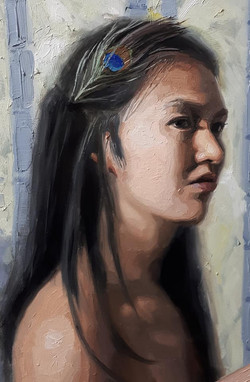 face - detail