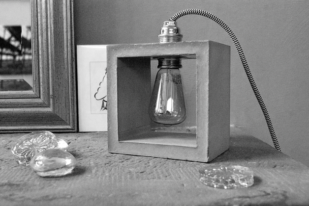 Lampe béton - Edition